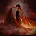 donna in rosso...tango